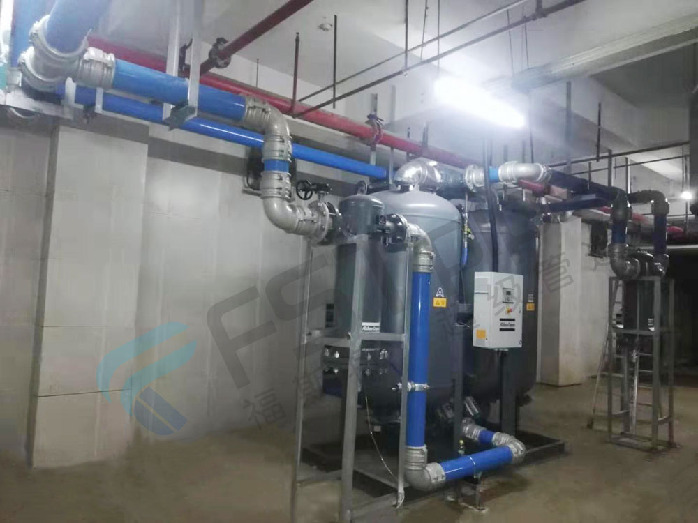 The specific principle of screw air compressor